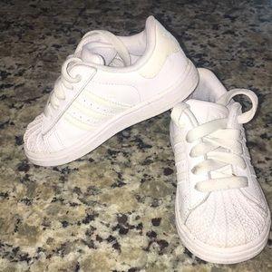 Toddler adidas size 8